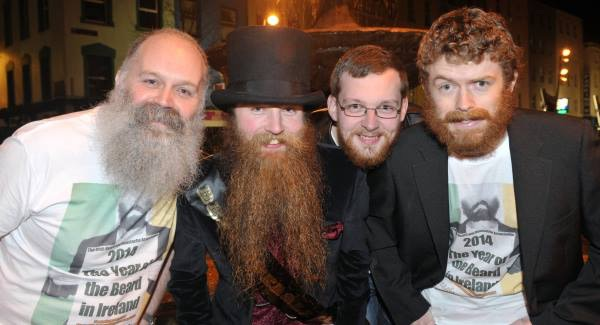 Irish Beards in honor of Ireland's public vote overwhelmingly approving the ability of a Beard to marry a Beard.