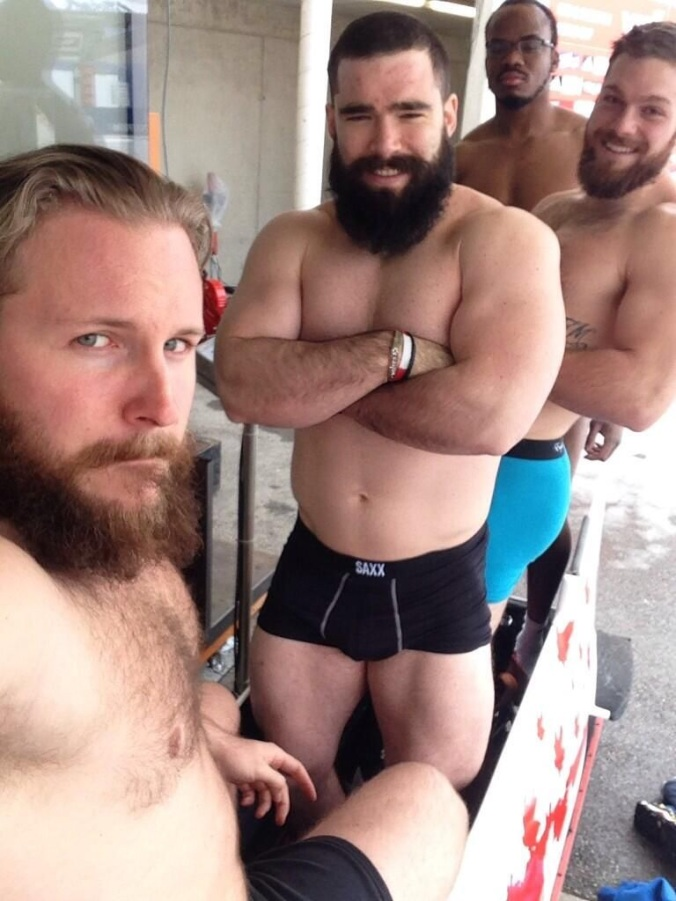 Canadian Bobsled Team Beards