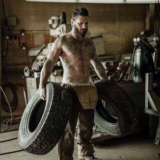 Beard with Tires